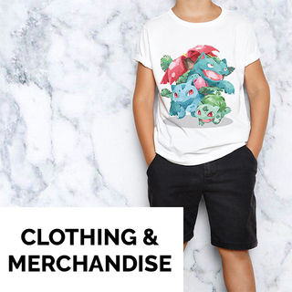 CLOTHING & MERCHANDISE
