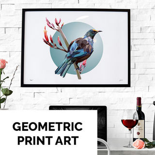GEOMETRIC FINE ART QUALITY