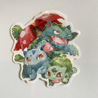 BULBASAUR STICKERS